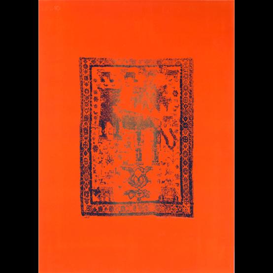 Persian Vintage - Leo (orange)