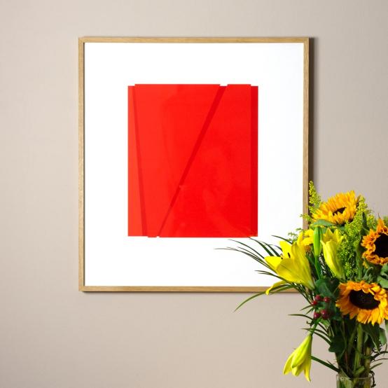 A2: röd - röd + röd