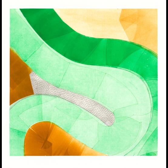 Green Fat Snake II