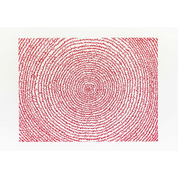 A Story Written with Water (red)