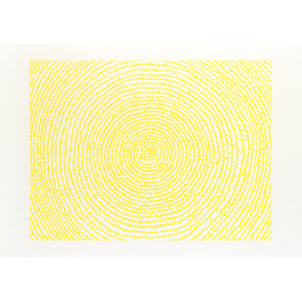 A Story Written with Water (yellow)