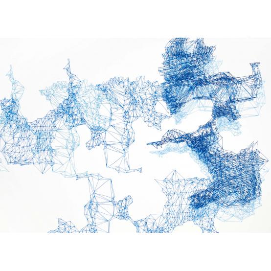 Composition Blue no 7