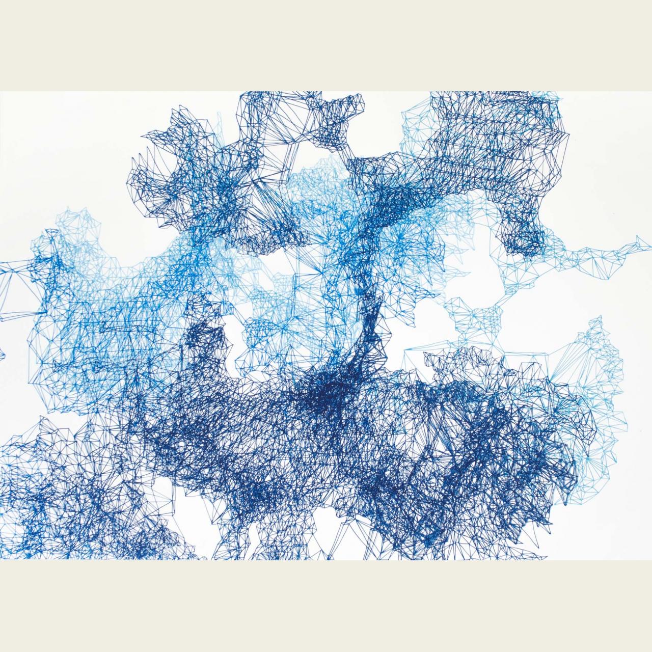 Composition Blue no 3