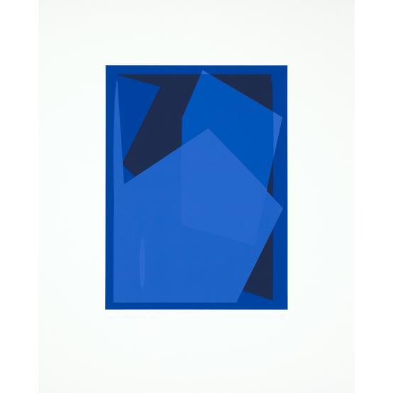 Barcelona-blå