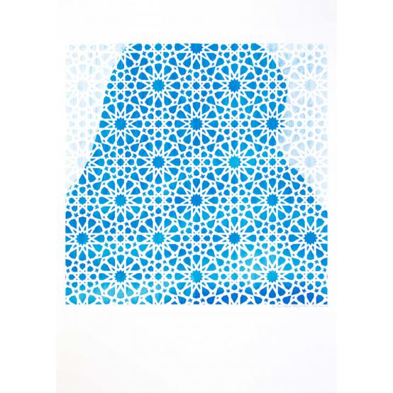 Hyllning till rörelsen II (blå) 3 av 35