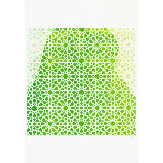 Hyllning till rörelsen II (grön)