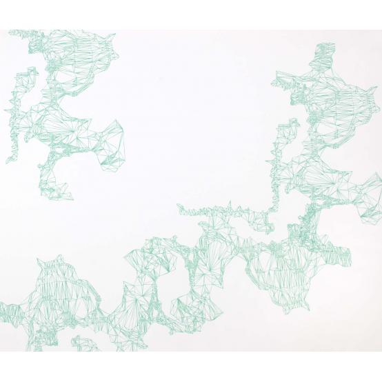 Composition Blue-Green L no 4