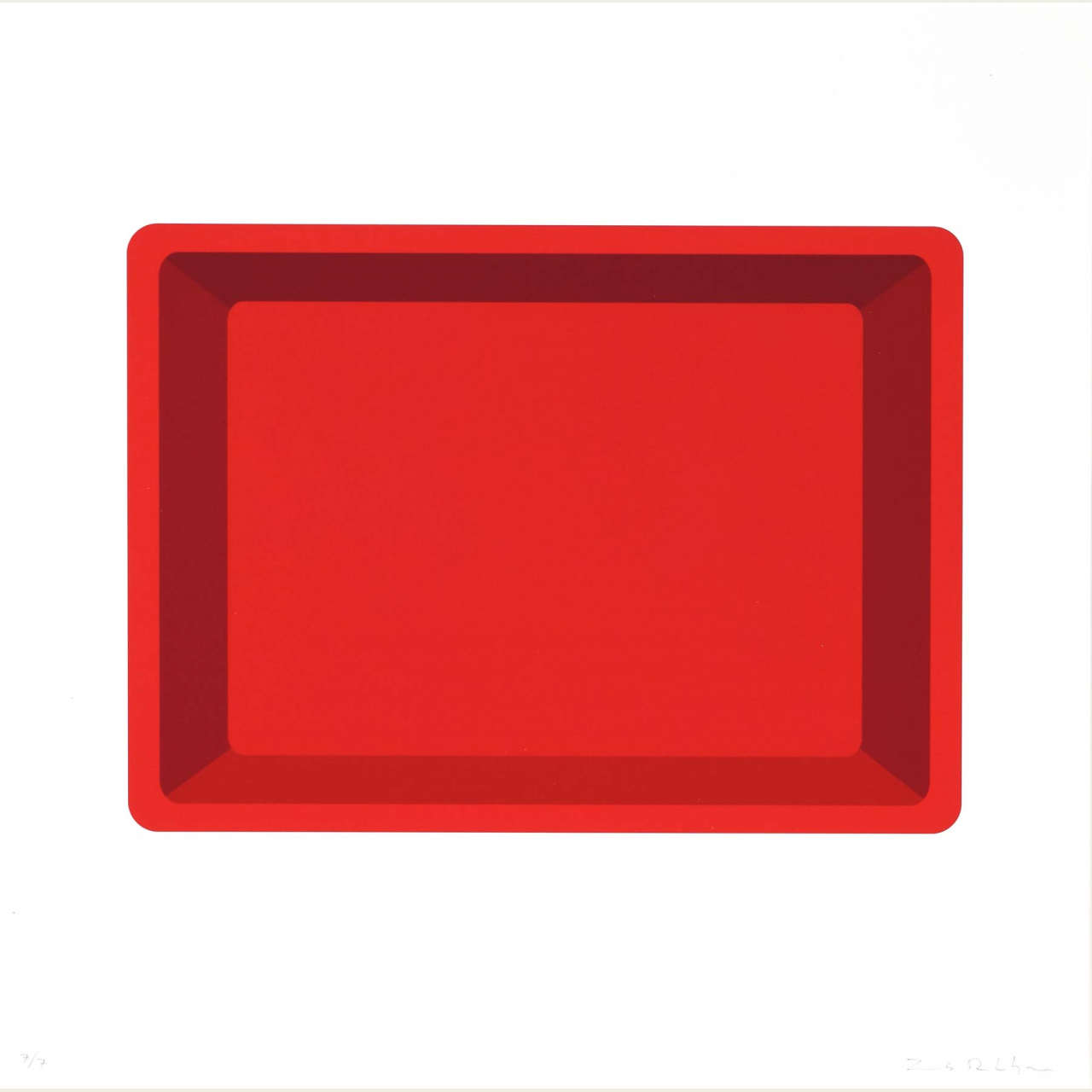 Portrait (red)