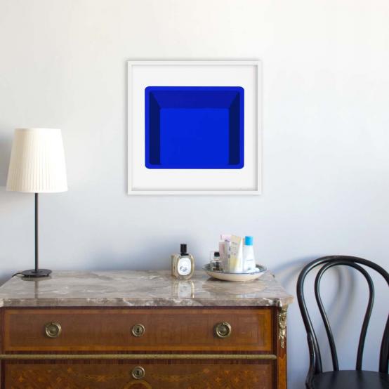 Portrait (blue)