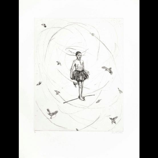 Ballerina på livslina