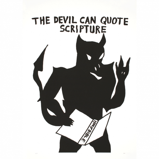 The Devil Can Quote Scripture