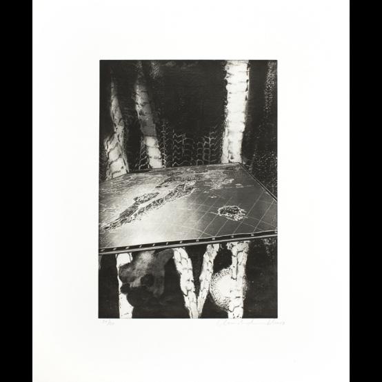 Max Ernst, Grätenwald, oil...