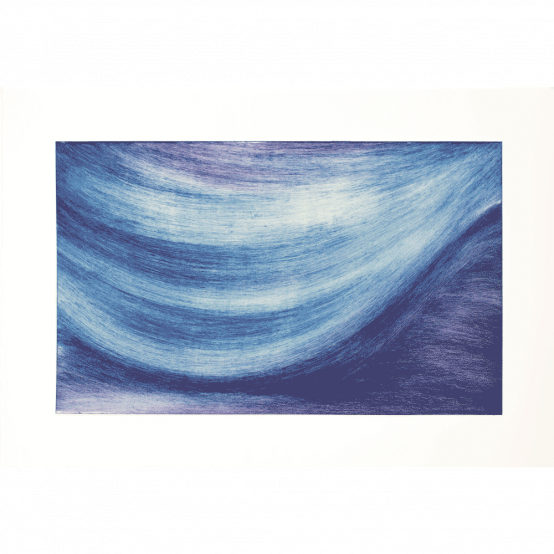 Untitled (blue and purple)