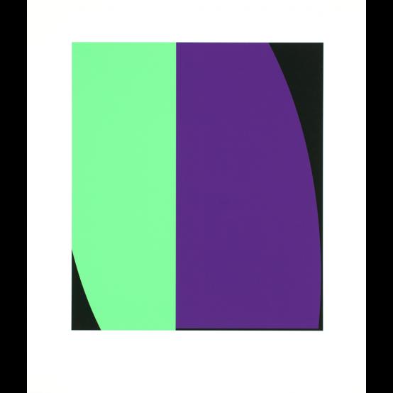 grön möter-blå