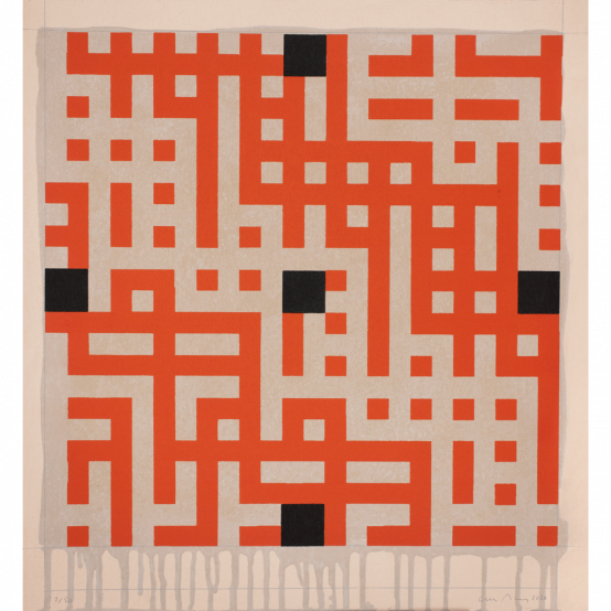 Untitled (black squares)