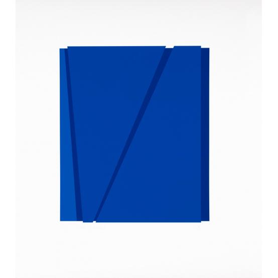 A: blå - blå + blå
