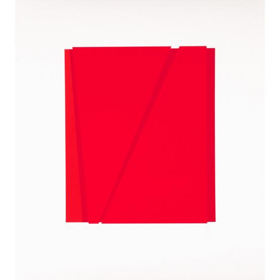 A: röd - röd + röd