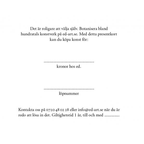 Gift voucher 4500 SEK