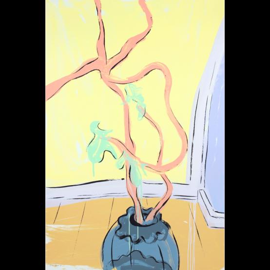 Vase foran vindue I