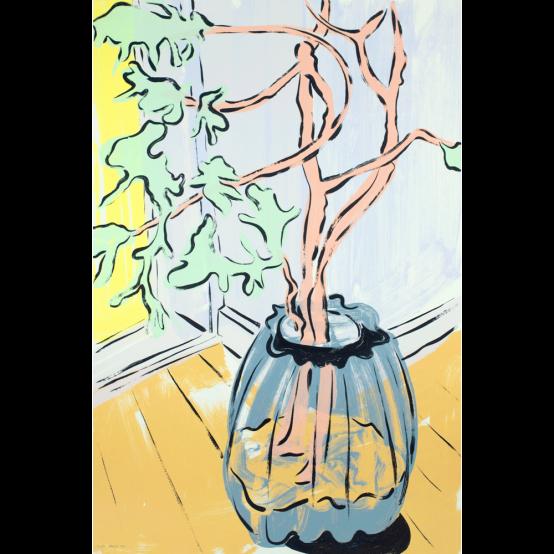 Vase foran vindue II