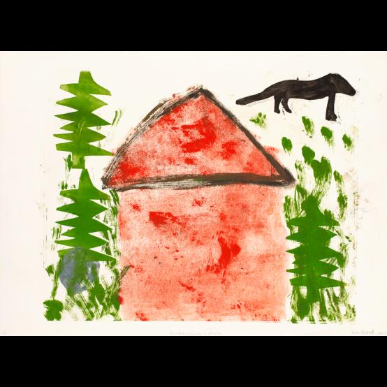 Det röda huset i skogen