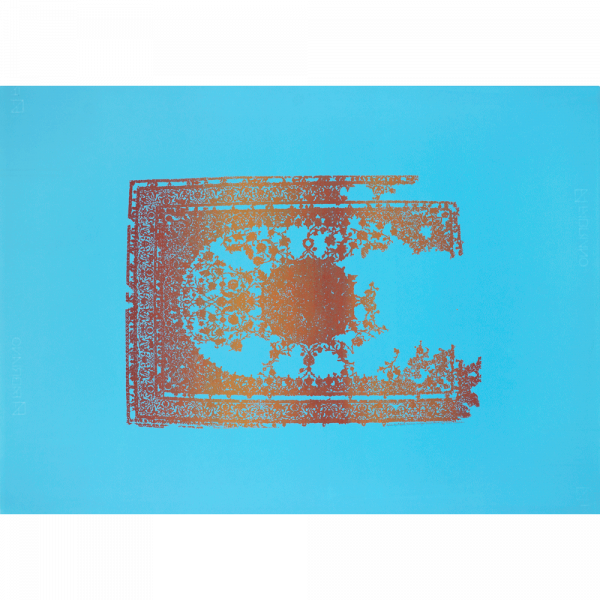 Persian Vintage - Royal flower (blue)