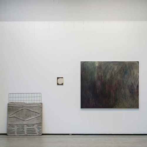 Exhibition at Nacka Konsthall, 2015. Clara Gesang-Gottowt together with Andreas Mangione and Henrik Eriksson. Photo by Jean Baptiste Béranger.