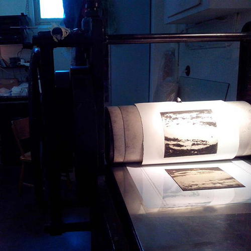 In the printers workshop: collography