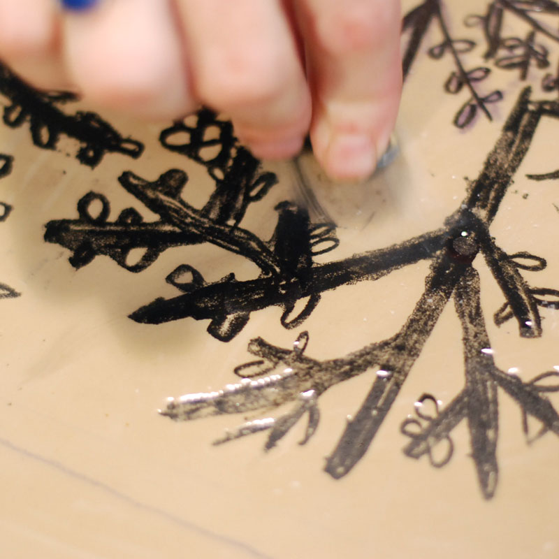 Lithography is a time consuming printing method in several steps