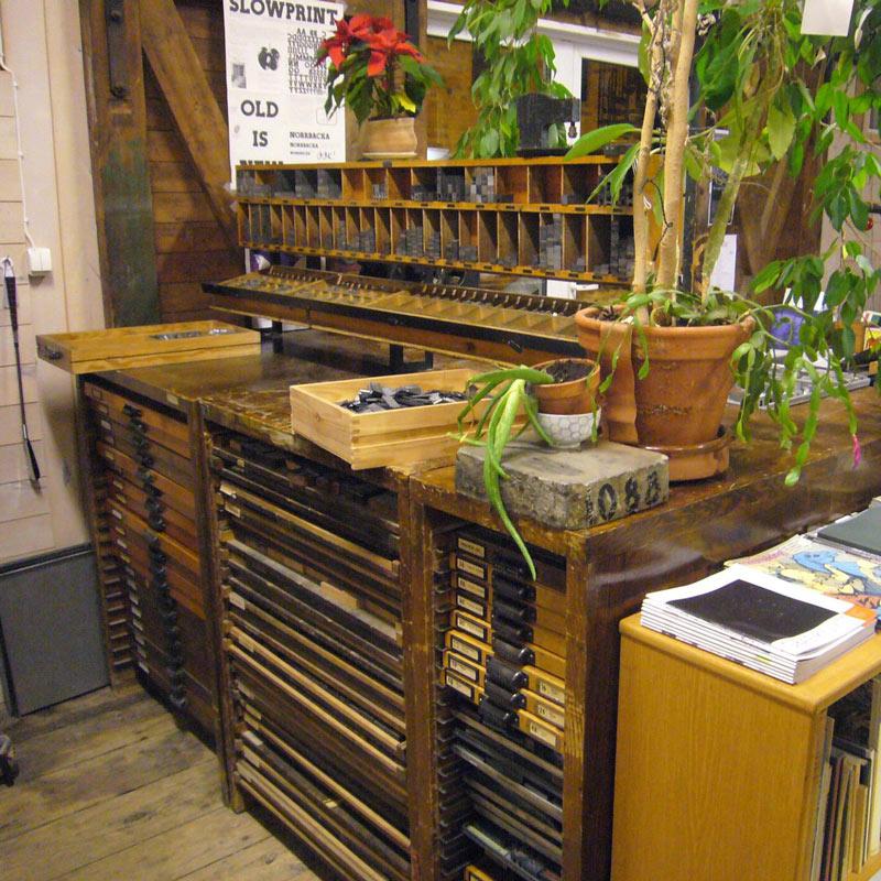 From the workshop in Uttersberg.