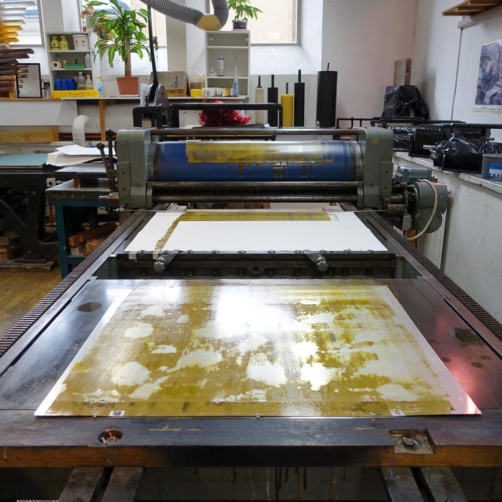 Printing monotypes
